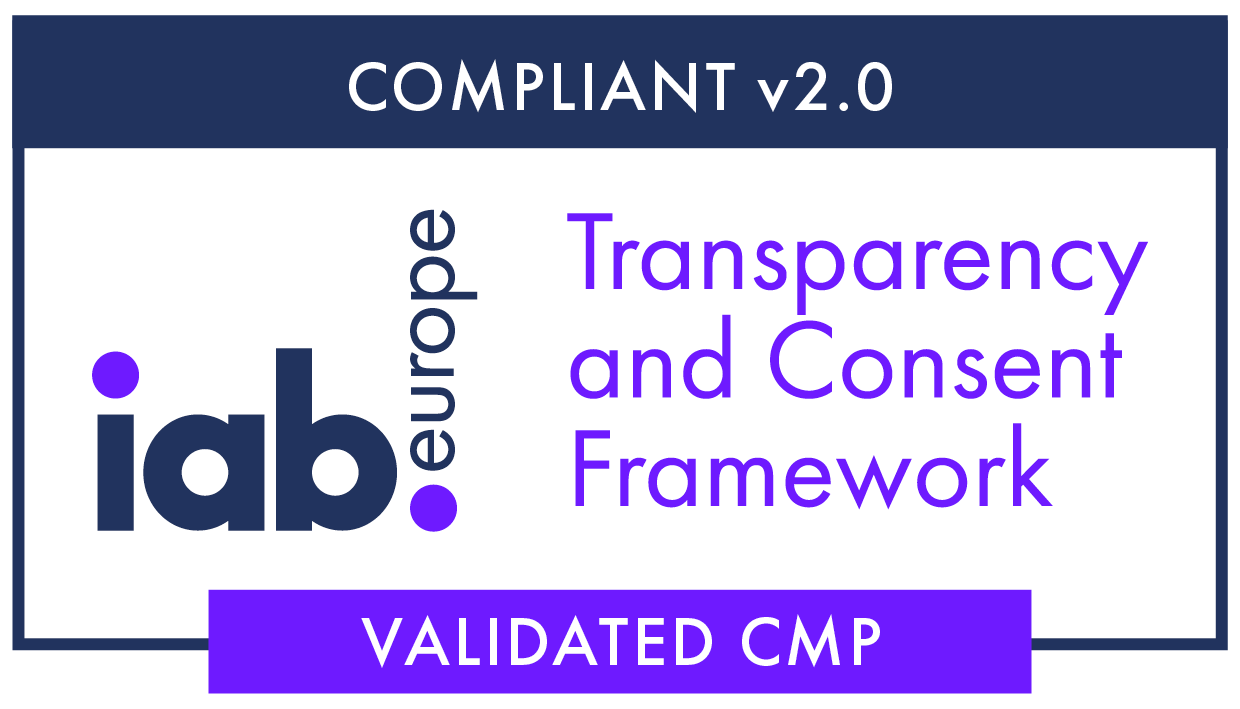 IAB TCF V2 registered consent manager for GDPR