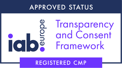 IAB registered consent manager for GDPR
