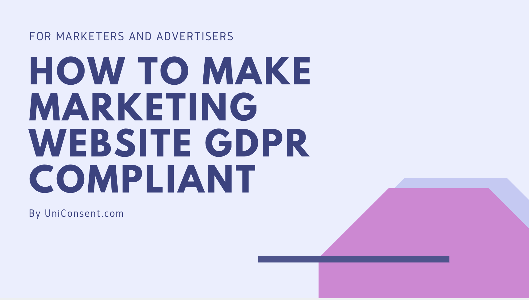 How to make marketing website GDPR compliant