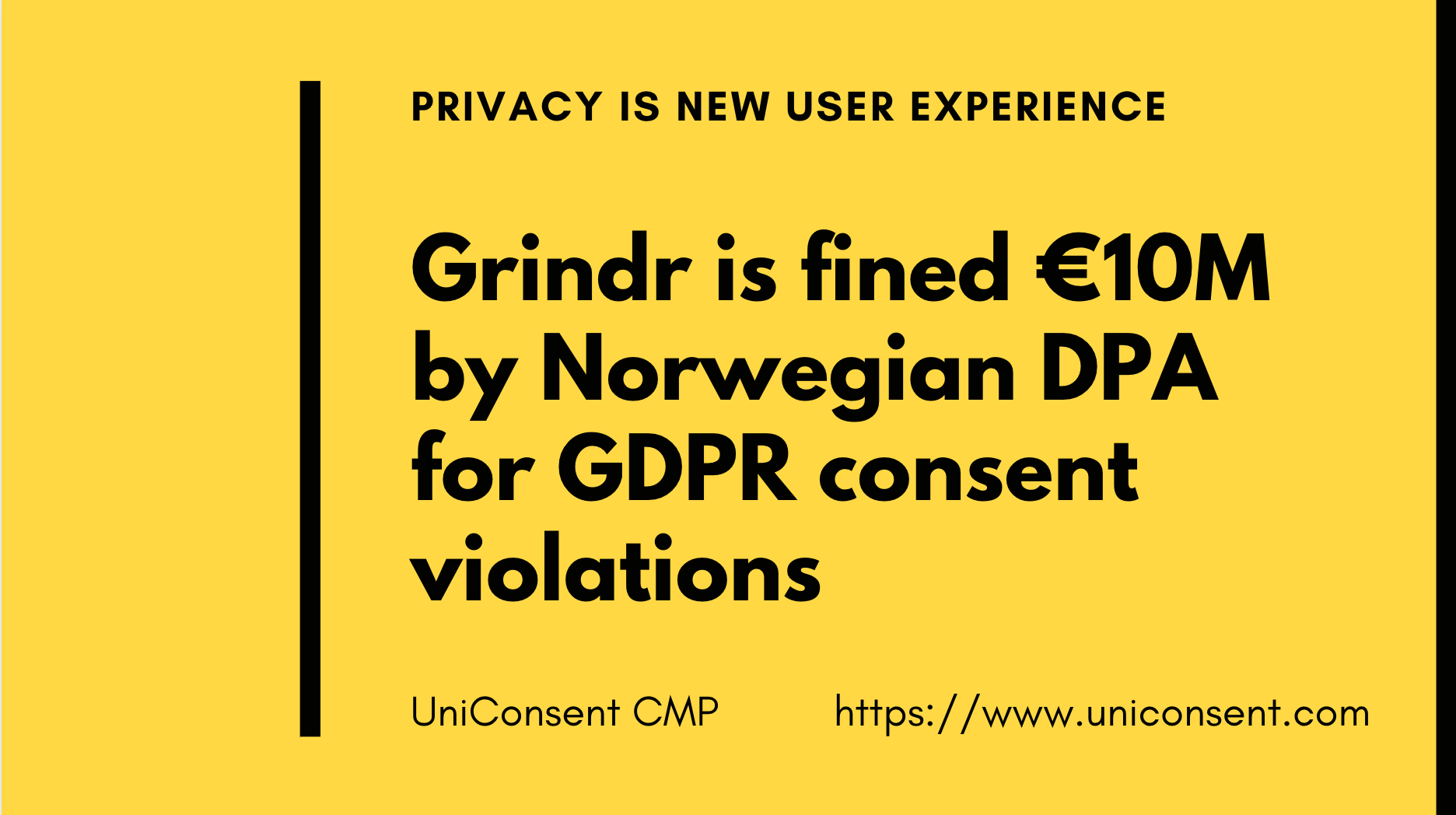 GDPR: Grindr is fined €10M by Norwegian DPA for GDPR consent violations